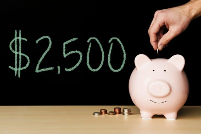 How to make $2500 a month in dividends